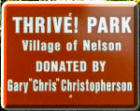 Thrive! Park sign