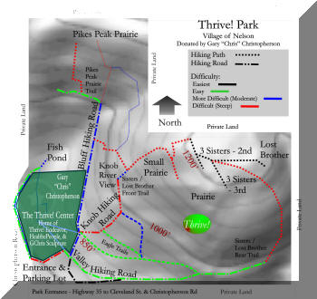 Thrive! Park map
