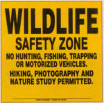 Wildlife safety zone
